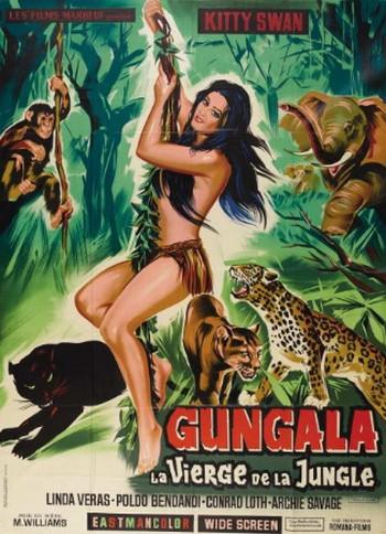 Gungala la vergine della giungla locandina 3