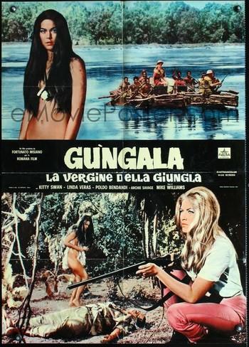 Gungala la vergine della giungla locandina 6