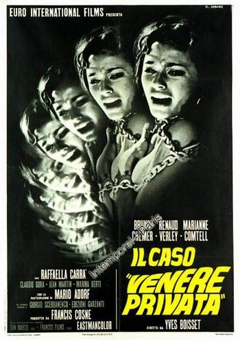 Il caso Venere privata locandina 3