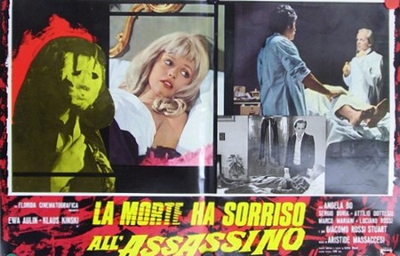 La morte ha sorriso al suo assassino lobby card 2