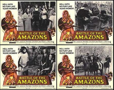 Le amazzoni lobby card 1