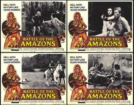 Le amazzoni lobby card 2