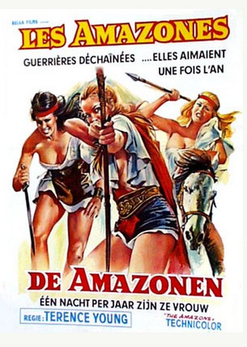 Le amazzoni locandina 3