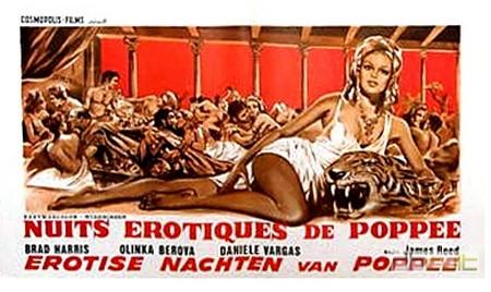 Le calde notti di Poppea lobby card 3