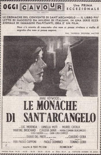 Le monache di Sant'Arcangelo locandina flano