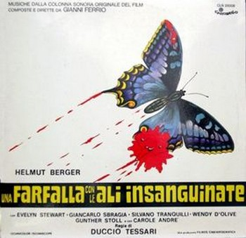 Una farfalla con le ali insaguinate locandina sound