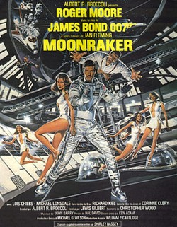 10 Agente 007 - Moonraker locandina