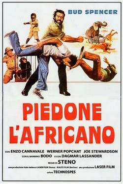 10 Piedone l'Africano locandina