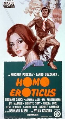13 Homo Eroticus locandina
