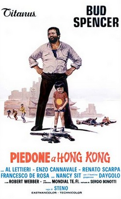 13 Piedone a Hong Kong locandina