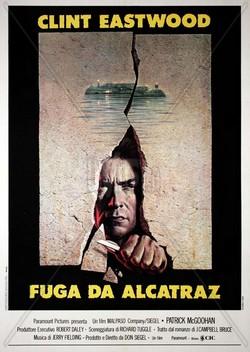 15 Fuga da Alcatraz locandina