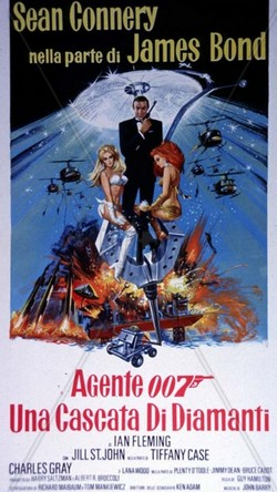 3 Agente 007 - Una cascata di diamanti locandina 1