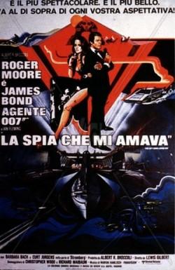 5 Agente 007 - La spia che mi amava locandina