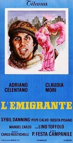 8 L'emigrante locandina