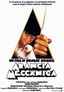 9 Arancia meccanica locandina