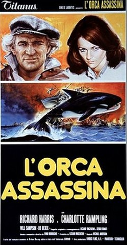 9 L'orca assassina locandina