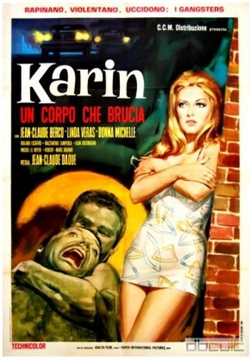 Karin un corpo che brucia locandina 1