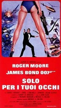 10 Agente 007 – Solo per i tuoi occhi locandina