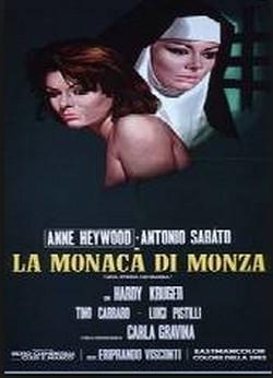 11 La monaca di Monza locandina