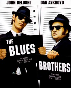 12 The Blues Brothers locandina