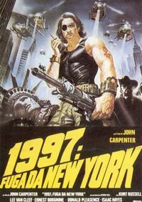 15 1997 Fuga da New York locandina