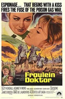 17) Fraulein Doktor locandina