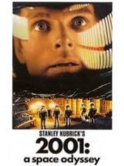 18 2001 odissea nello spazio locandina