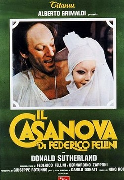 18 Il Casanova di Federico Fellini locandina