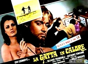 La gatta in calore lobby card 5