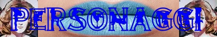 Labbra di lurido blu banner personaggi