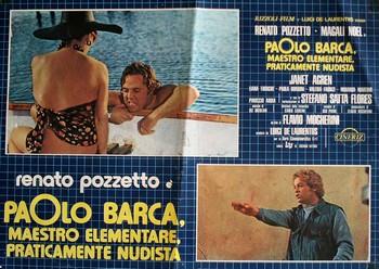 Paolo Barca maestro elementare lobby card 1