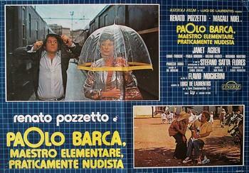 Paolo Barca maestro elementare lobby card 2