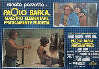 Paolo Barca maestro elementare lobby card 4