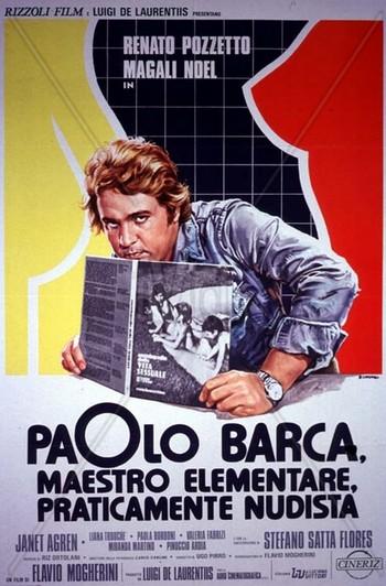 Paolo Barca maestro elementare locandina 1