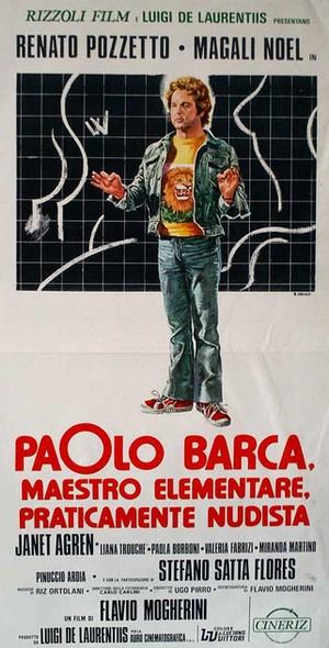 Paolo Barca maestro elementare locandina 2
