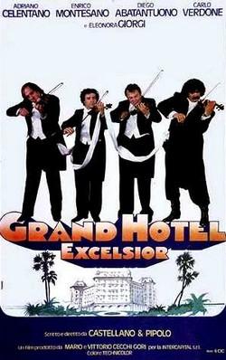 4 Grand Hotel Excelsior locandina