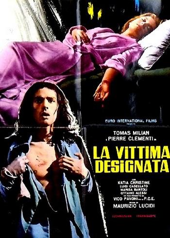 La vittima designata locandina 5