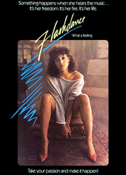 1 Flashdance locandina