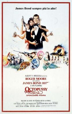 15 Agente 007 - Octopussy - Operazione Piovra locandina