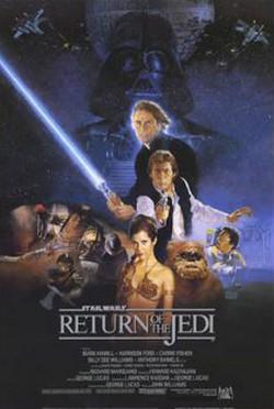 6 Il ritorno dello Jedi locandina
