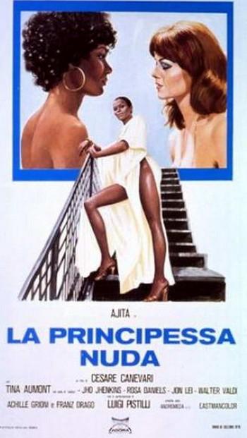 La principessa nuda locandina 1