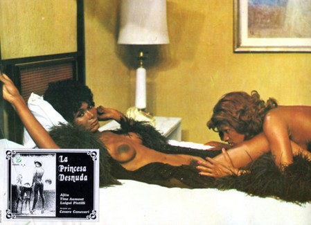 La principessa nuda locandina lobby card 1