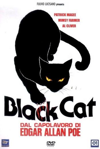 Black cat-Gatto nero locandina 1