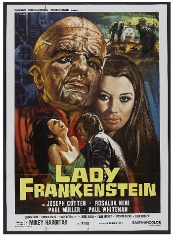 Lady Frankenstein locandina 1