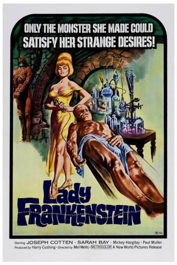 Lady Frankenstein locandina 2