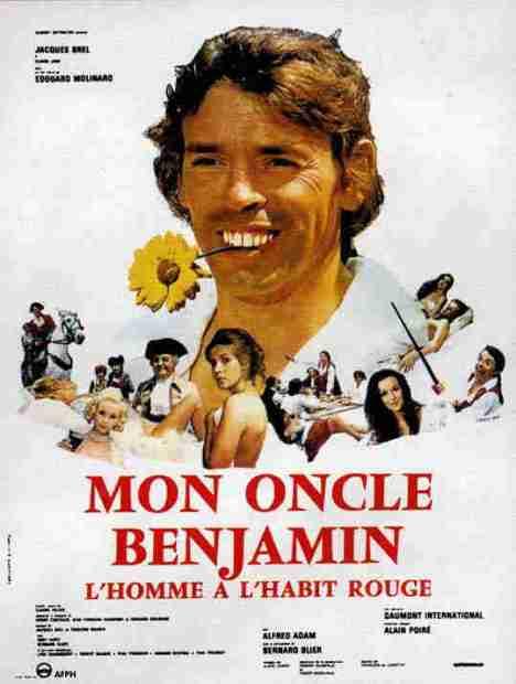 Mio zio Beniamino, l'uomo dal mantello rosso locandina 1