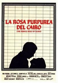 16 La rosa purpurea del Cairo locandina