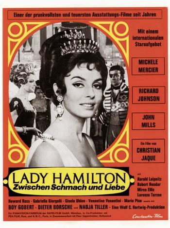 Le calde notti di Lady Hamilton locandina 3