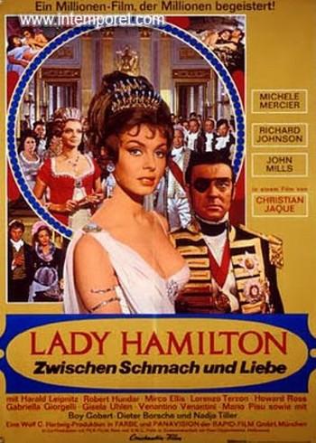 Le calde notti di Lady Hamilton locandina 4