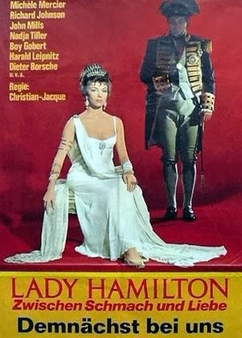 Le calde notti di Lady Hamilton locandina 5